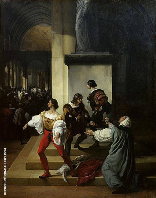 The Lampugnani Conspiracy Painting By Francesco Hayez
