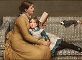 Alice in Wonderland 1879 By George Dunlop Leslie