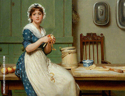 Apple Dumplings 1800 By George Dunlop Leslie