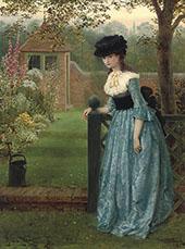 Clarissa 1865 By George Dunlop Leslie