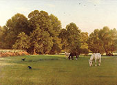 Day of Rest Wallingford 1897 By George Dunlop Leslie