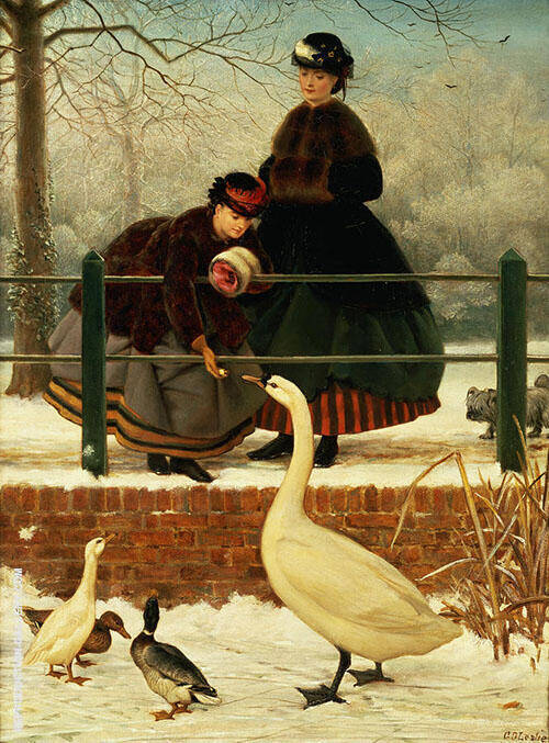 Frozen Out By George Dunlop Leslie
