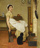 Her First Place By George Dunlop Leslie