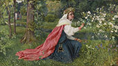 Matilda By George Dunlop Leslie