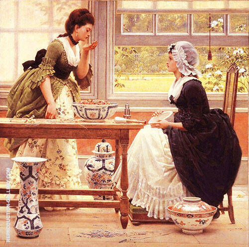 Pot Pourri By George Dunlop Leslie