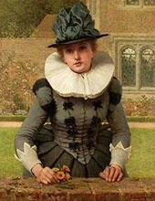 Sweet Anne Page By George Dunlop Leslie
