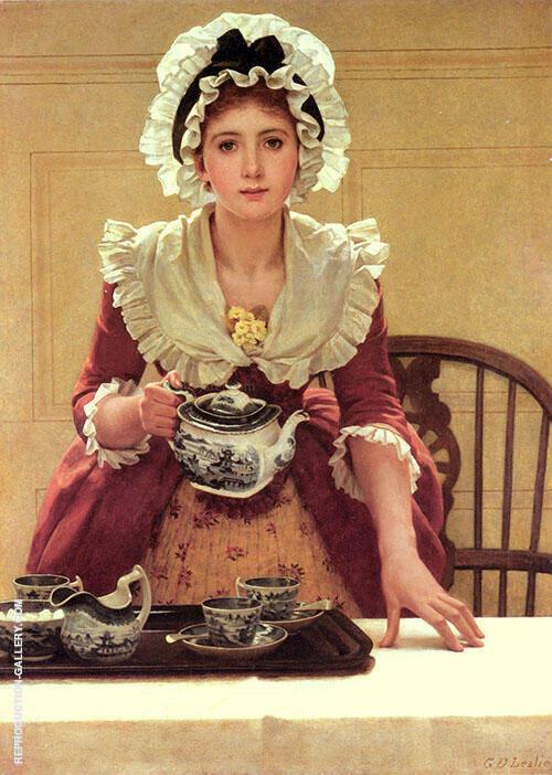 Tea By George Dunlop Leslie