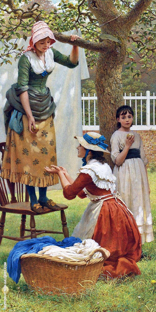 The Daughters of Eve By George Dunlop Leslie