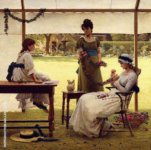 The Garland By George Dunlop Leslie