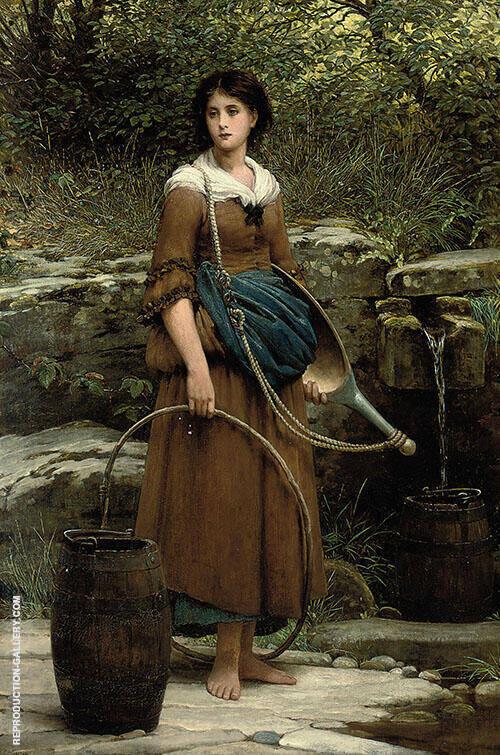 The Nut Brown Maid By George Dunlop Leslie