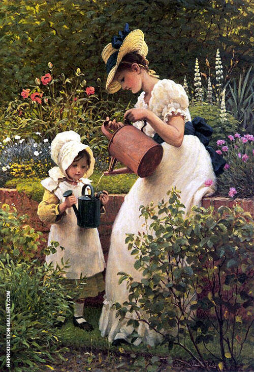The Young Gardener 1889 By George Dunlop Leslie