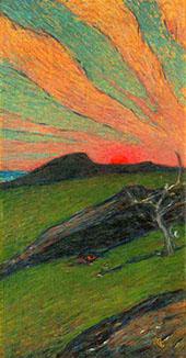 Sunset Bohuslan By Karl Nordstrom