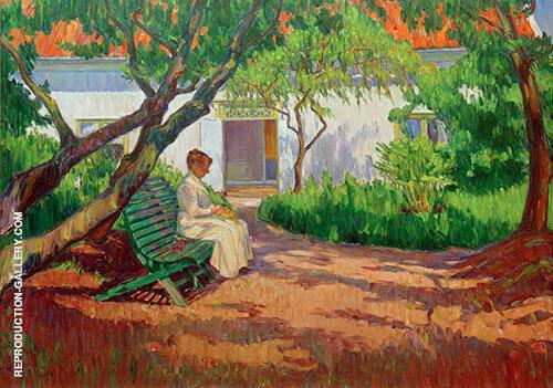 In the Garden By Karl Nordstrom