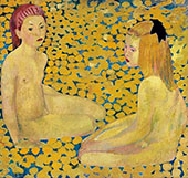 The Yellow Girls By Cuno Amiet