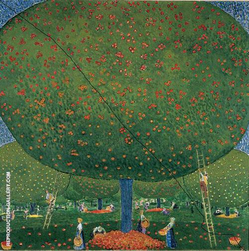 Apfelernte 1907 By Cuno Amiet