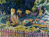 Bauerngarten 1918 By Cuno Amiet