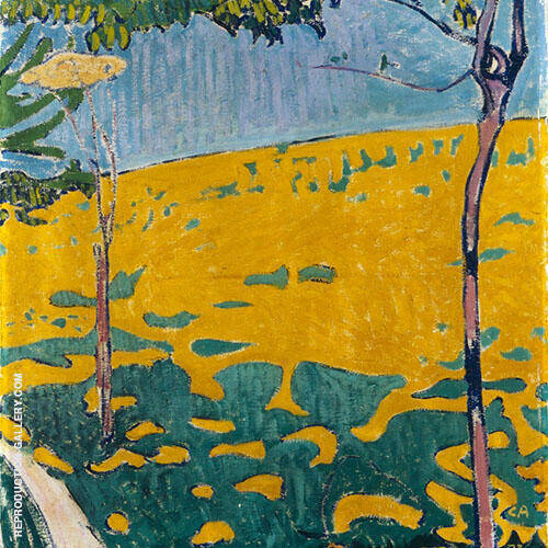 Dandelion Meadow 1903 By Cuno Amiet