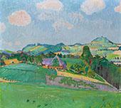 Landscape Oschwand By Cuno Amiet