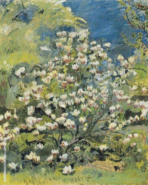 Magnolia 1945 By Cuno Amiet