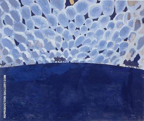 Moonlit Landscape 1904 By Cuno Amiet