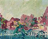 Spring Landscape 1919 By Cuno Amiet