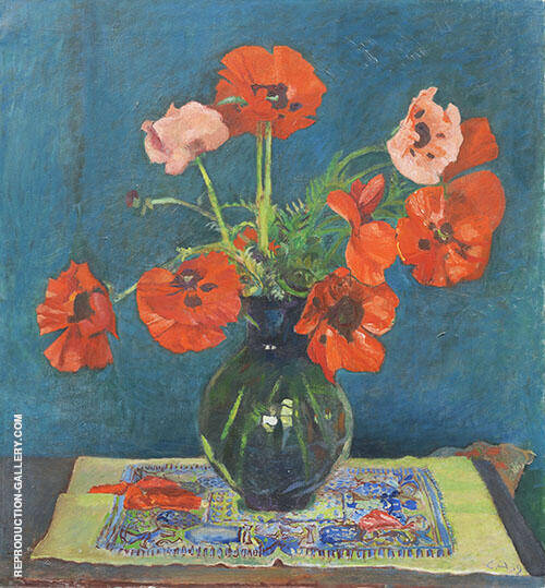 Still Life 1939 Painting By Cuno Amiet - Reproduction Gallery