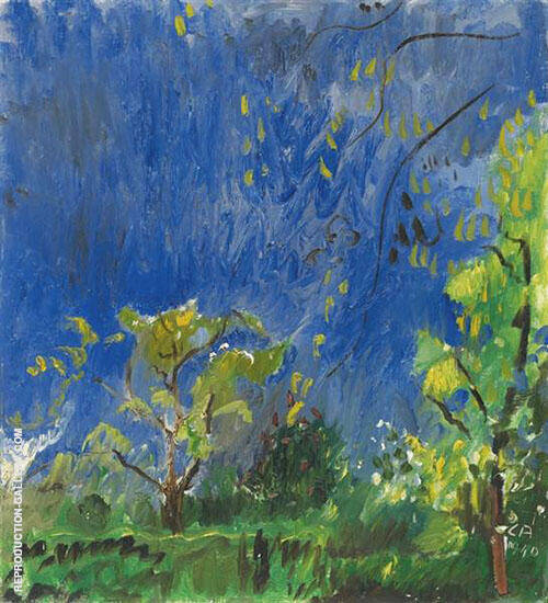 Thunderstorm 1932 By Cuno Amiet