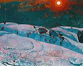 Wintersonne 1927 By Cuno Amiet