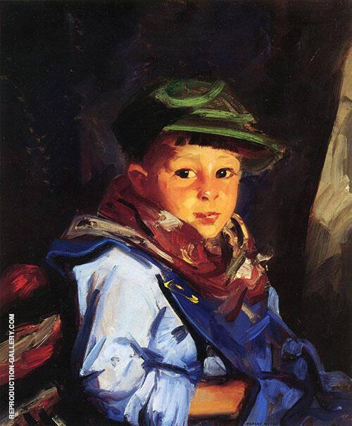 Boy in Green Cap - Chico -1922 By Robert Henri