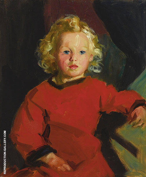 Bridgeen 1927 Painting By Robert Henri - Reproduction Gallery