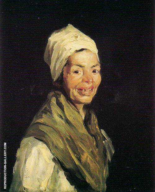 Celestina 1908 Painting By Robert Henri - Reproduction Gallery