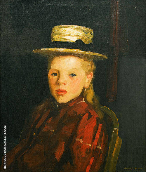 Dutch Girl By Robert Henri
