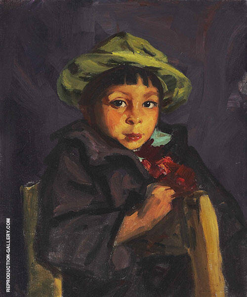 Francisco 1922 By Robert Henri