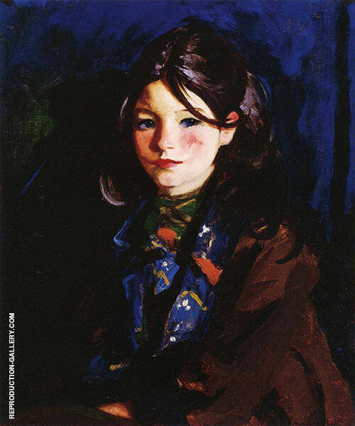 Letecia 1925 Painting By Robert Henri - Reproduction Gallery