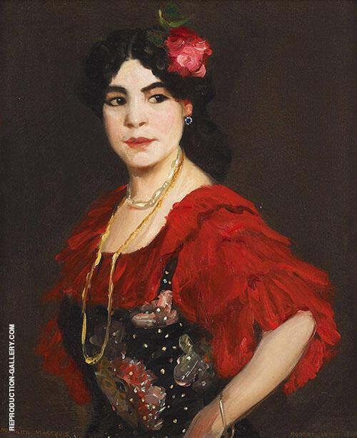 Henri Manolita Marequis 1908 By Robert Henri