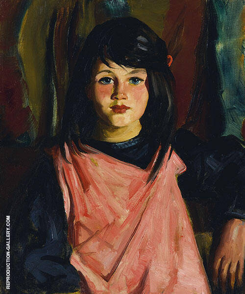 Mary Patton 1926 Painting By Robert Henri - Reproduction Gallery