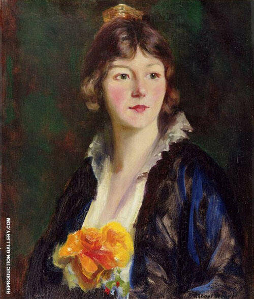Mildred Clarke von Kienbusch 1914 By Robert Henri