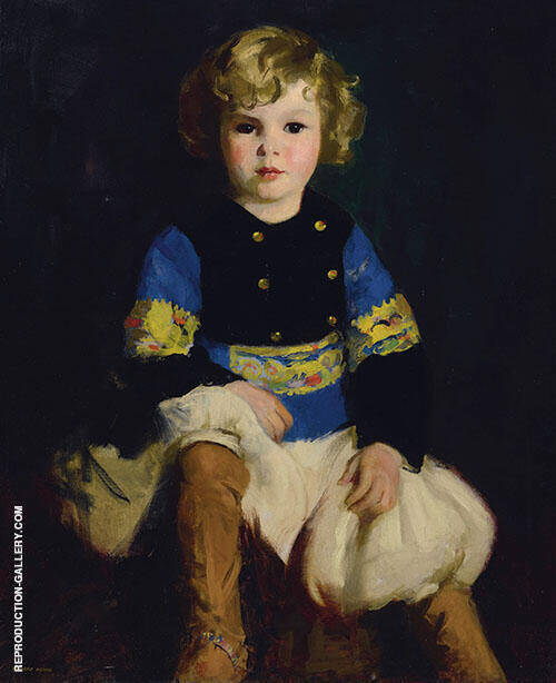 Portrait of Carl Tucker By Robert Henri