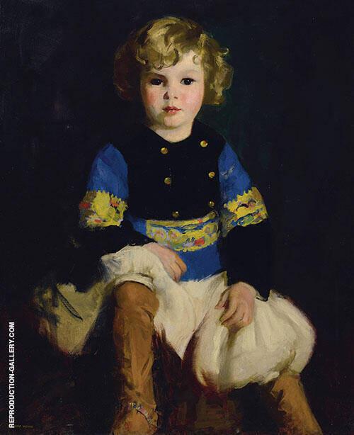 Portrait of Carl Tucker By Robert Henri
