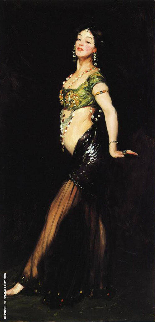 Salome 1909 By Robert Henri