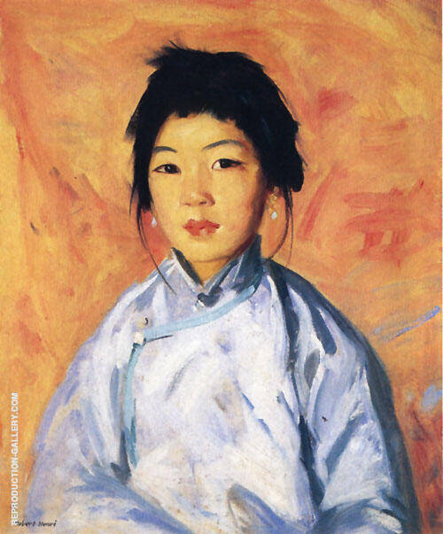 Tam Gam 1914 Painting By Robert Henri - Reproduction Gallery