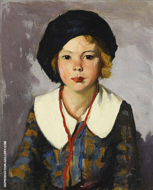 The Blue Tam 1918 By Robert Henri