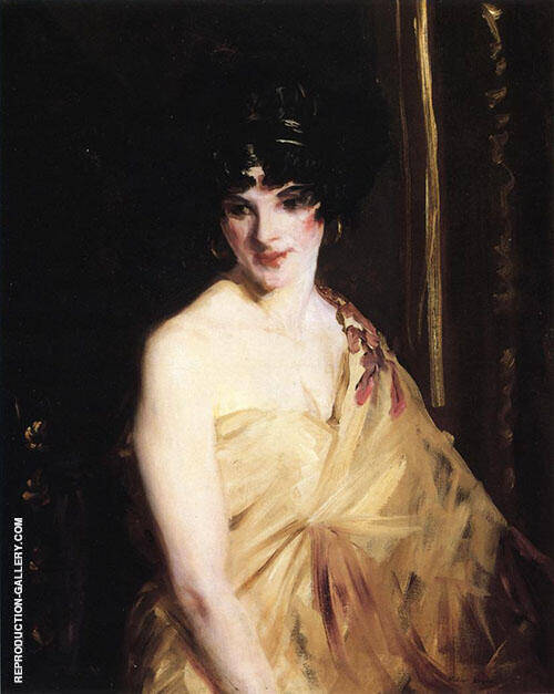 The Dancer 1910 By Robert Henri