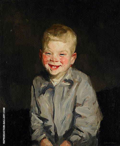 The Laughing Boy 1910 Painting By Robert Henri - Reproduction Gallery