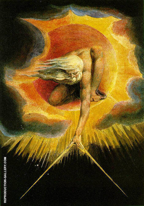 Ancient of Days 1794 By William Blake