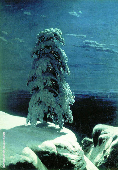 In The Wild North 1891 By Caspar David Friedrich