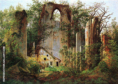 Klosterruine Eldena 1825 By Caspar David Friedrich