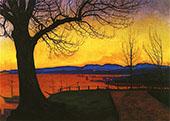 Evening Akershus 1913 By Harald Sohlberg