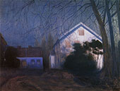 Moonlight 1909 By Harald Sohlberg