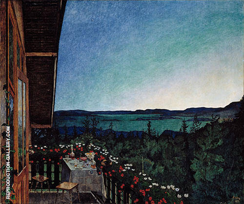 Summer Night 1899 By Harald Sohlberg
